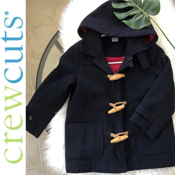 c19d290e6740d KIDS WOOL COAT BY CREW CUTS